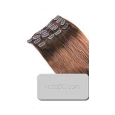 No5 - Коса на клипс