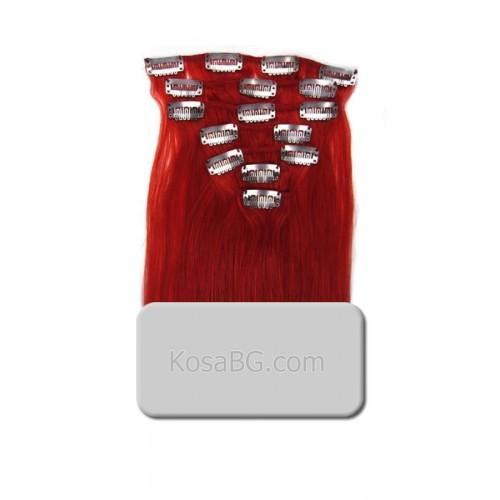 Red - Коса на клипс